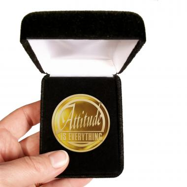 Attitude is Everything Classic Lapel Pin