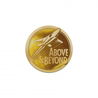 Above and Beyond Classic Lapel Pin