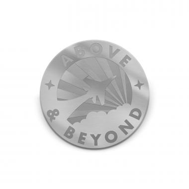 Above & Beyond Medallion Challenge Coin