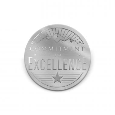 Commitment to Excellence Medallion Challenge Coin