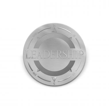 Leadership Compass Medallion Challenge Coin