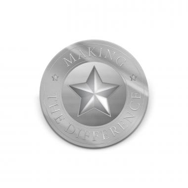 Making the Difference Medallion Challenge Coin