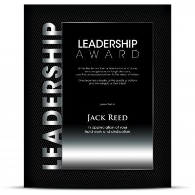 Thematic Plaque Leadership