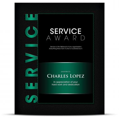Thematic Plaque Service