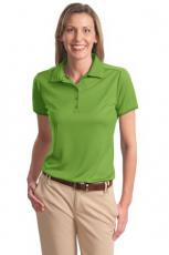 Performance Apparel - Port Authority<sup>®</sup> - 3XL -  Ladies' bamboo charcoal birdseye jacquard sport polo. Blank