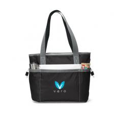 Tote Bags General - Black -  Polyester insulated tote