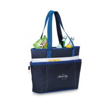 Tote Bags General - Navy Blue -  Polyester insulated tote