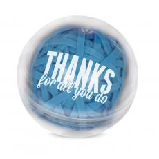 Clips & Fasteners - Thanks For all You Do! Rubber Band Ball
