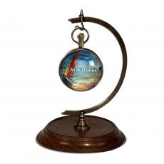 Executive Sculptures - Hanging Clock with Base