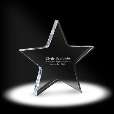Star Acrylic Paperweight