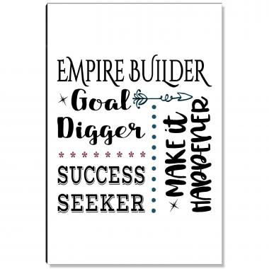 Empire Builder Inspirational Art