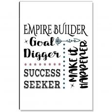 Motivational Posters - Empire Builder Inspirational Art