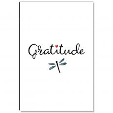 Newest Additions - Gratitude Dragonfly Inspirational Art