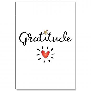 Gratitude Heart Inspirational Art