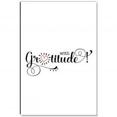 Motivational Posters - Gratitude Heart Shine Inspirational Art