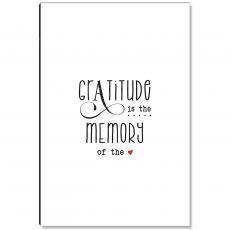 Studious Studio - Gratitude Memory White Inspirational Art