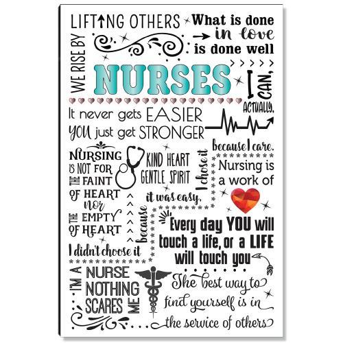 Nurses Quote Inspirational Art