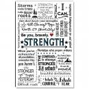 Strength Quote Inspirational Art