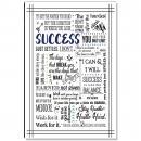 Success Quote Inspirational Art