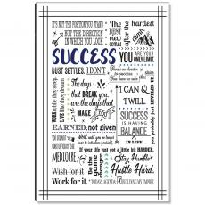 Studious Studio - Success Quote Inspirational Art