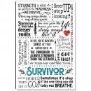 Survivor Quote Inspirational Art