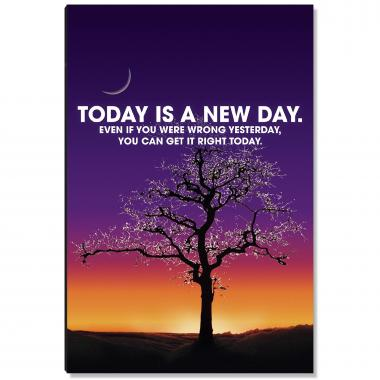 A New Day Inspirational Art