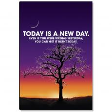 Motivational Posters - A New Day Inspirational Art