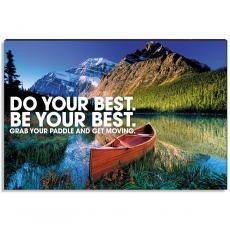 Newest Additions - Achievement Canoe Inspirational Art