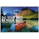 Achievement Canoe Inspirational Art