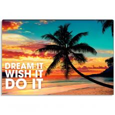 Motivational Posters - Dream Beach Inspirational Art