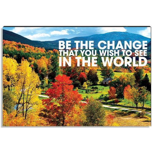 Embrace Change Inspirational Art