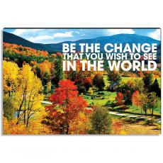 Motivational Posters - Embrace Change Inspirational Art