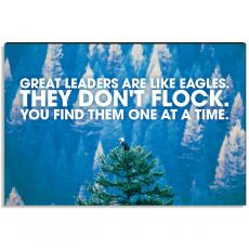Motivational Posters - Leadership Eagle Inspirational Art