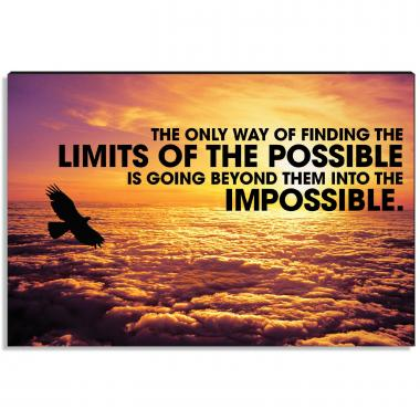 No Limits Inspirational Art