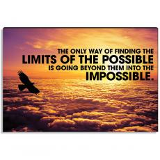 Motivational Posters - No Limits Inspirational Art