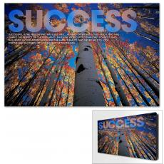 Success Posters - Success Tree Motivational Art