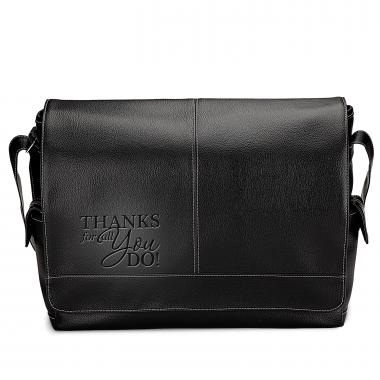 Thanks For All You Do Executive Messenger Bag
