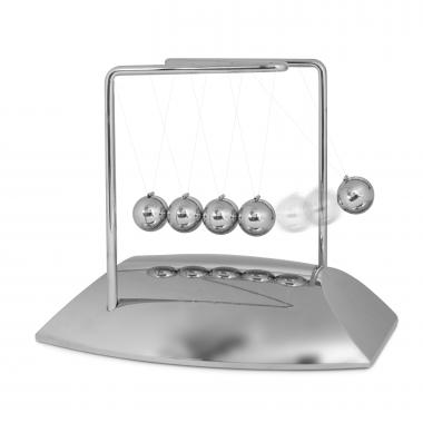 Personalized Newton's Cradle Executive Game