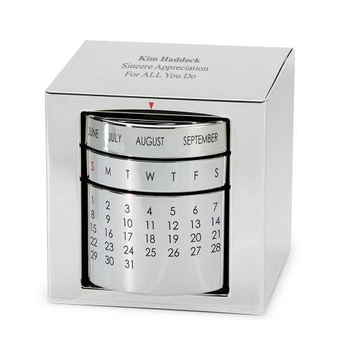 Polished Silver Perpetual Calendar