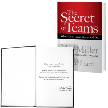 The Secret of Teams: What Great Teams Know and Do Book