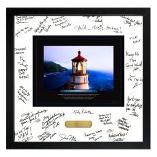 Boss Gifts - Leadership Lighthouse Signature Frame