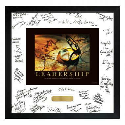 Leadership Compass Signature Frame