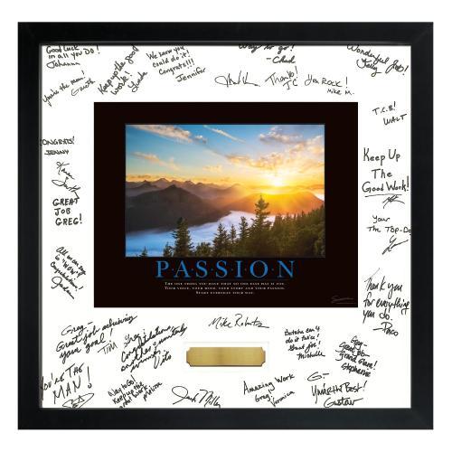 Passion Sunrise Signature Frame