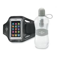 Fashion Accessories - Bobble<sup>®</sup> - Gray -  Get fit with this performance gift set! Includes our Max Performance Smartphone Armband and Sport with Tether Cap