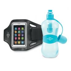 Fashion Accessories - Bobble<sup>®</sup> - Aqua Blue -  Get fit with this performance gift set! Includes our Max Performance Smartphone Armband and Sport with Tether Cap