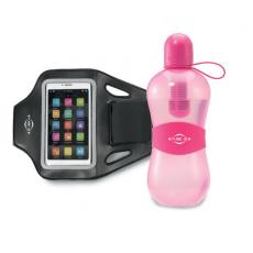 Fashion Accessories - Bobble<sup>®</sup> - Deep Pink -  Get fit with this performance gift set! Includes our Max Performance Smartphone Armband and Sport with Tether Cap