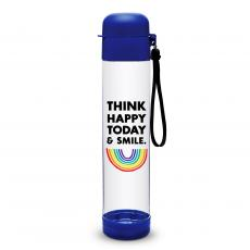 Closeout and Sale Center - Think Happy Flip Top Water Bottle