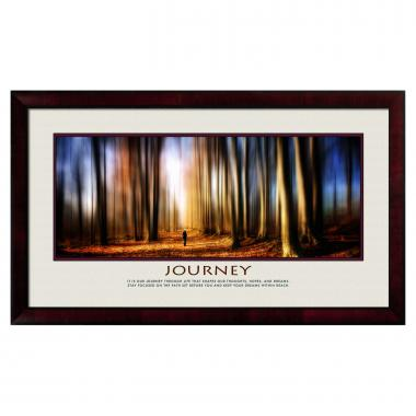 Journey Forest Motivational Poster