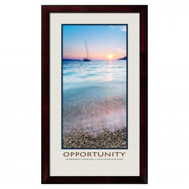 Opportunity Sailboat Motivational Poster