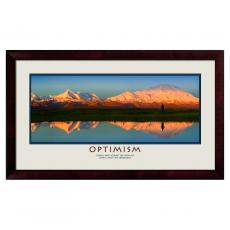 Lifescapes - Optimism Reflection Motivational Poster